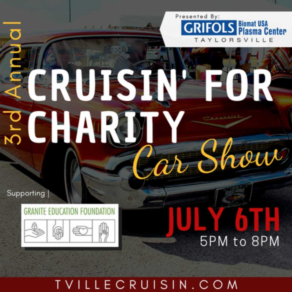 3rd Annual Car Show - Sponsored by GRIFOLS Biomat USA