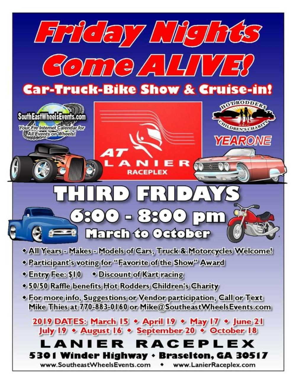 Friday Nights Come Alive! Lanier Raceplex